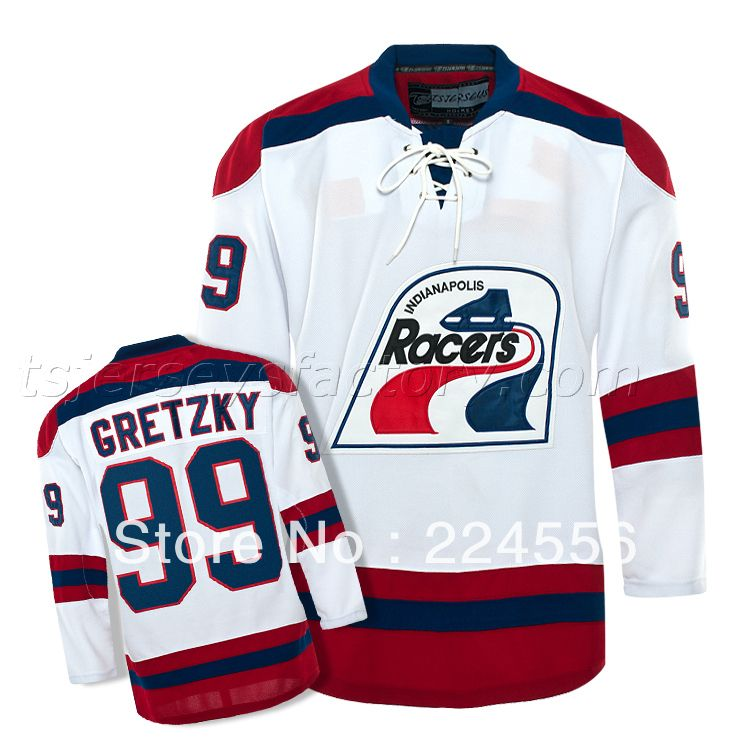 741d0ea10 Find More Sports Jerseys Information about Wholesale Jersey wayne gretzky  #99 Indianapolis Racers Vintage WHA