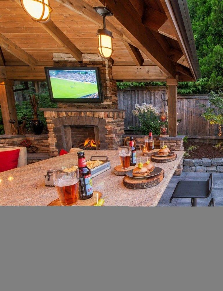 25 amazing ideas to make cozy outdoor kitchen decoration outdoor kitchen decor outdoor decor on outdoor kitchen id=21370