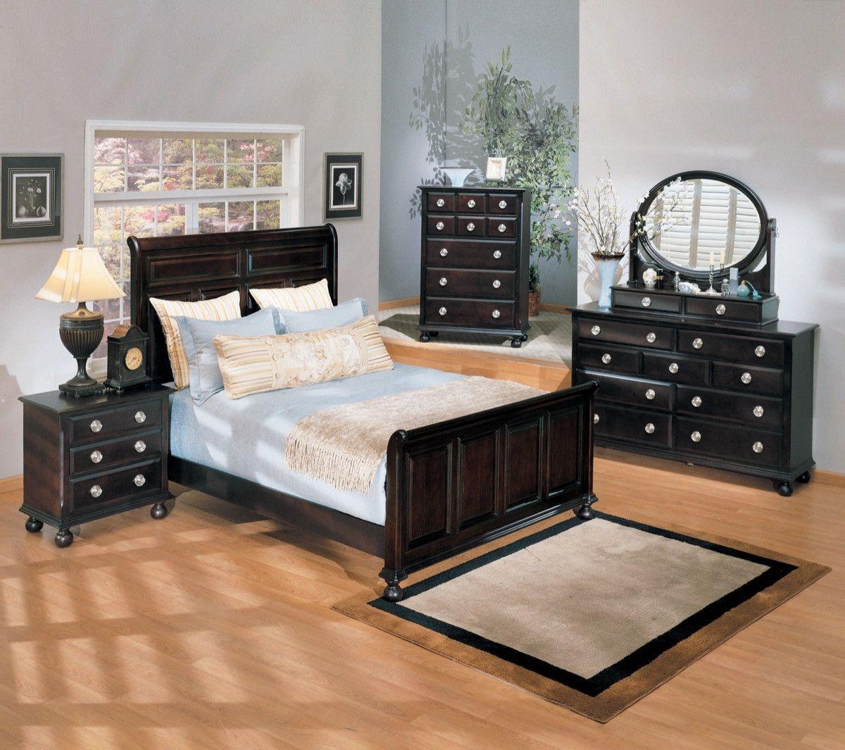 ACME Amherst Queen Bed Espresso 01790Q Buy bedroom