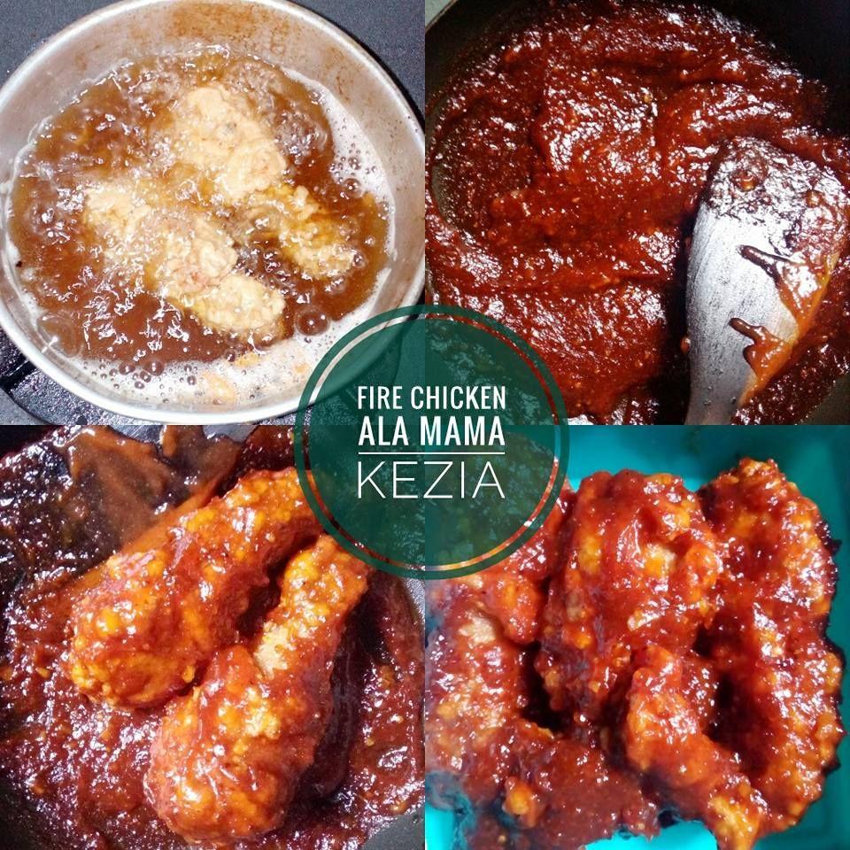 Resep Masakan Fire Chicken Spicy Homemade Ala Rest Rechesse Resep Masakan Masakan Resep
