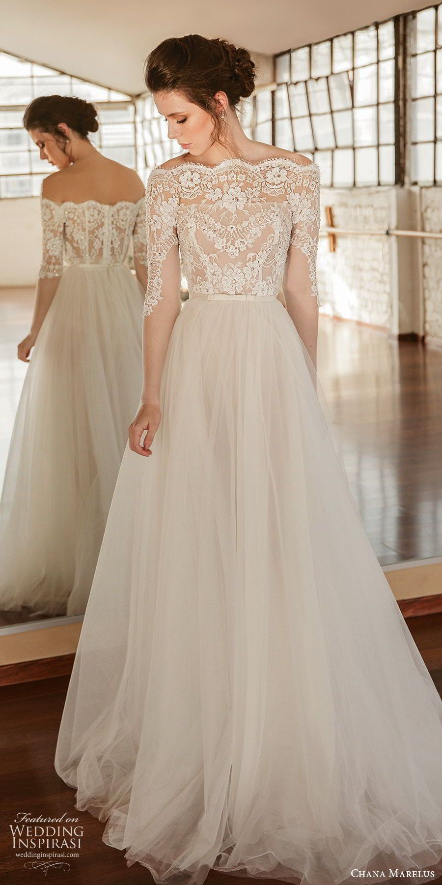 Photo of Chana Marelus Herbst / Winter 2019 Brautkleider | Hochzeit Inspirasi