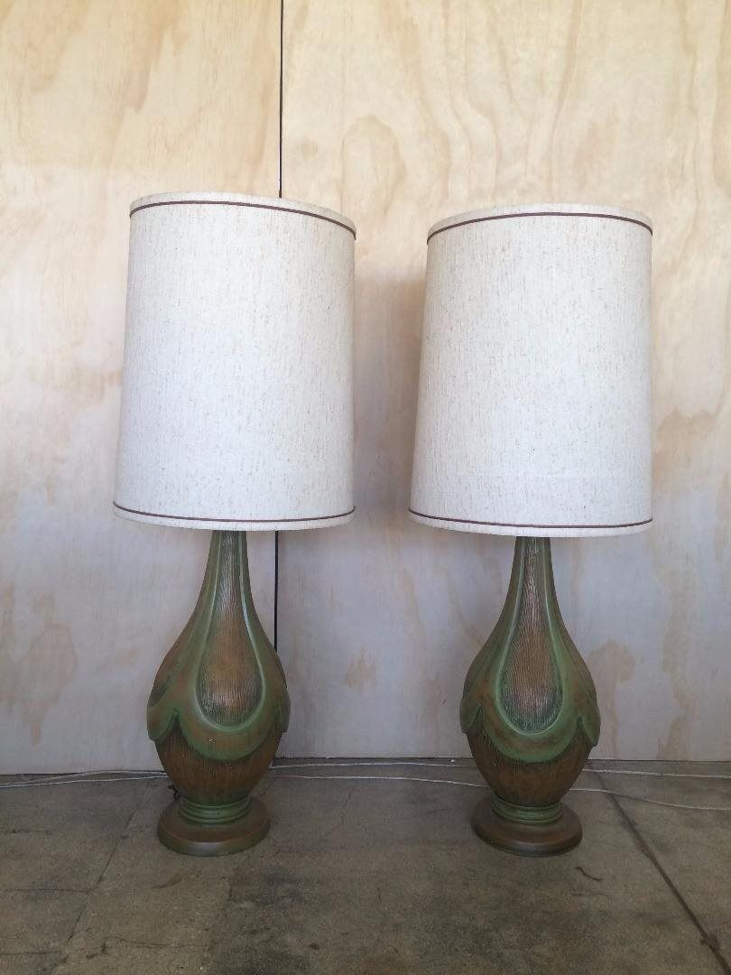 Vintage Table Lamps Pair Of 1960 S Vintage Table Lamps Los Angeles Ca Trove Market