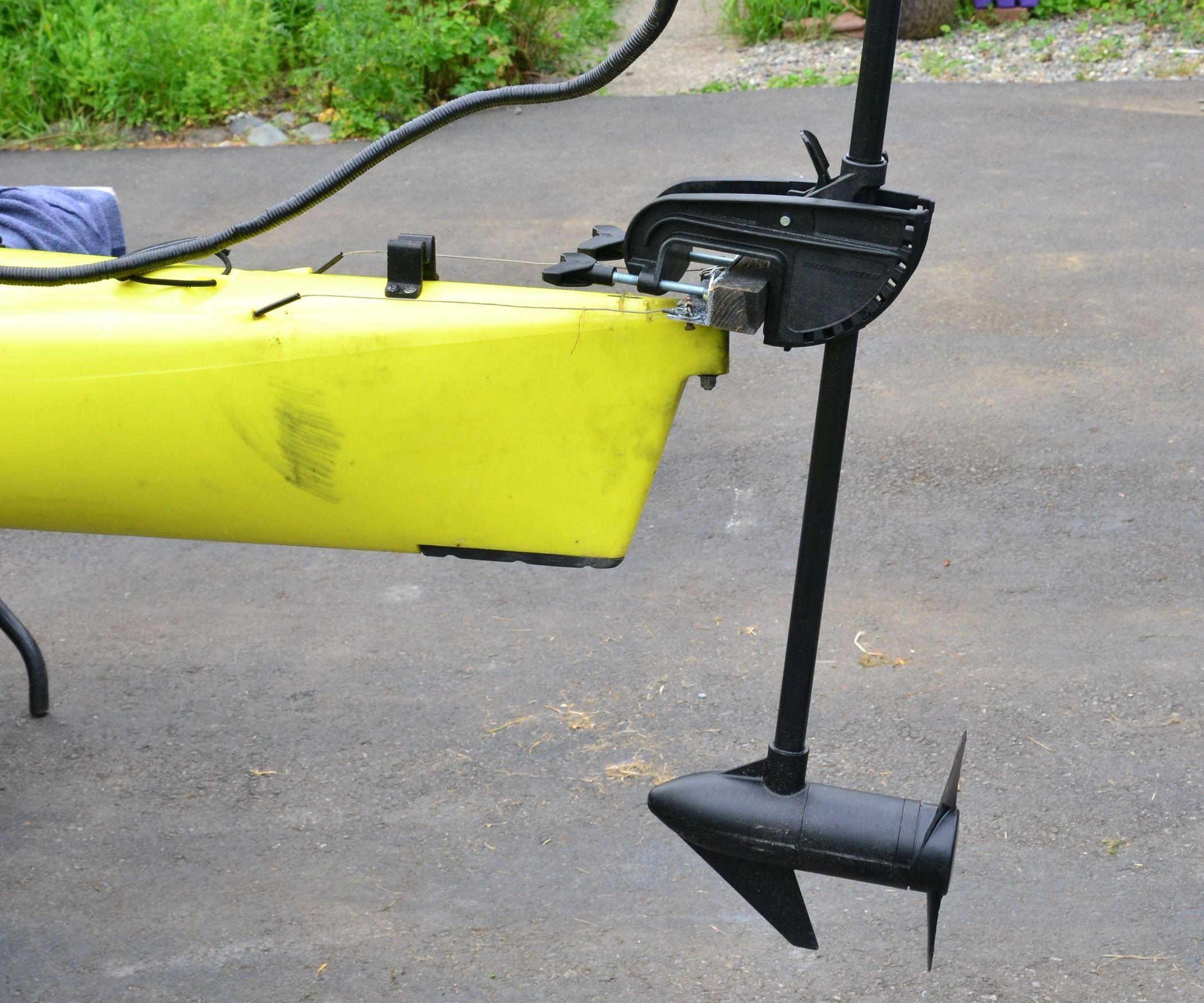Diy trolling motor for Canoe electric trolling motor