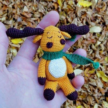 Crochet moose free amigurumi pattern | AMİGURAMİ | Pinterest | Patrones