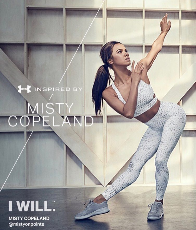 Nueve cigarrillo ética  underarmourwomen @underarmour Inspired By Misty Copeland Collection! |  Misty copeland, Belly dancing classes, Ballet poses