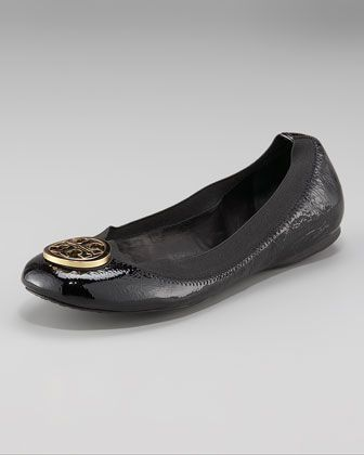a316c52f23c Tory Burch Caroline Patent Ballet Flat | My Style | Tory burch ...