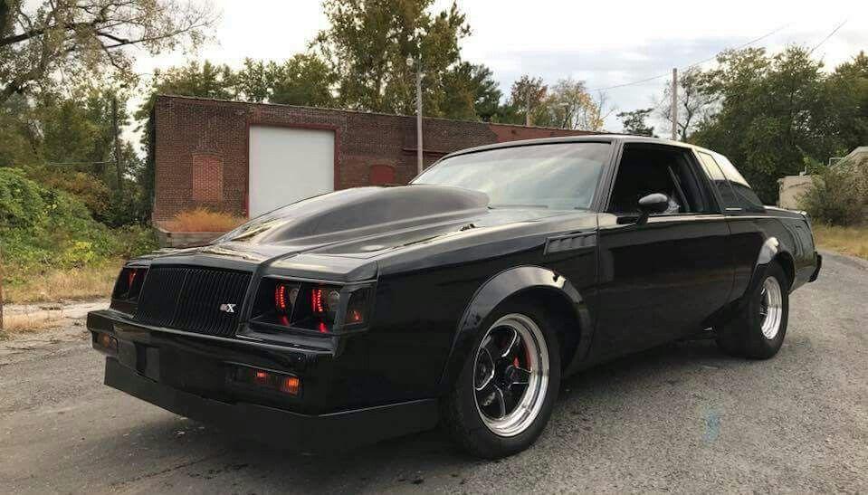 VFN Sunoco hood -nice | Grand nationals | Buick grand