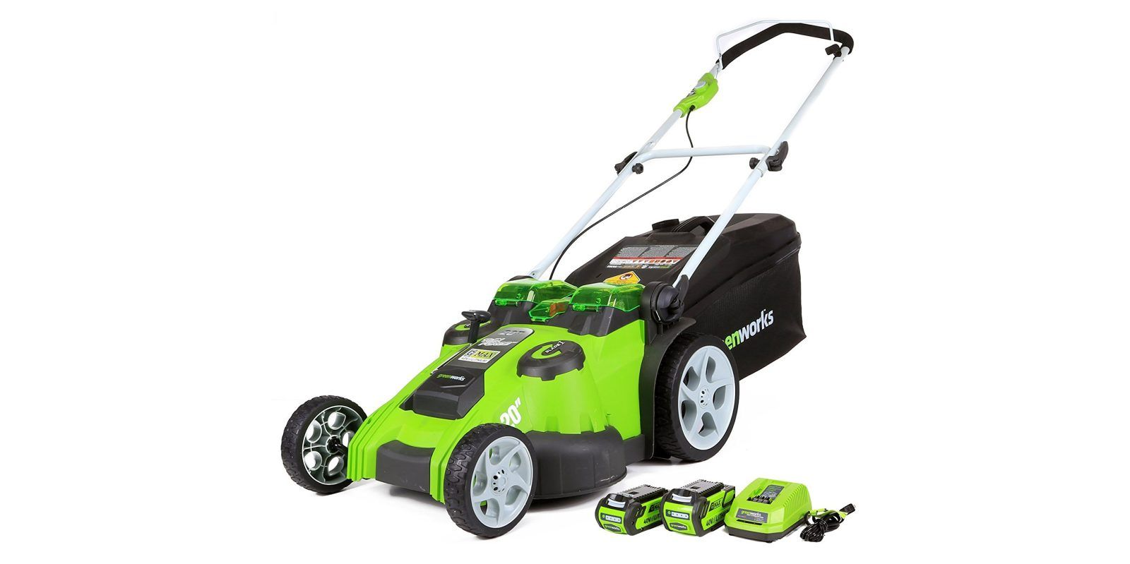 Green Deals Greenworks 40v Electric Lawn Mower Is A 1 Best Seller At 226 More Cordless Lawn Mower Push Lawn Mower Lawn Mower