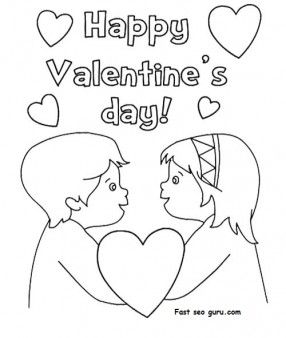 Happy Valentines Day coloring pages  Google Search  Coloring