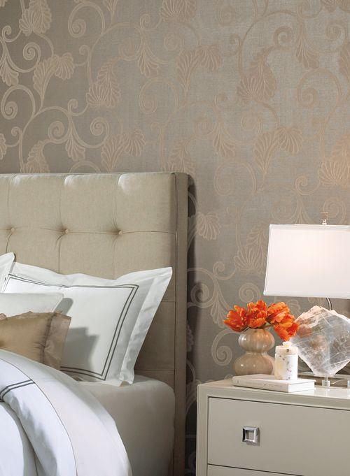 Papel tapiz para recamaras mural papel para paredes for Dormitorio principal m6 deco