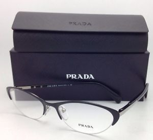 7209afb22d Prada Cat Eye Semi-rimless Eyeglasses