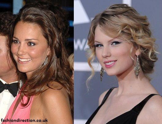 Kate Middleton Ss Ofcambridge Taylor Swift Tiffany Elsa