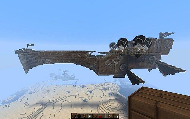 Pirate Airship | Minecraft ships, Minecraft blueprints ...