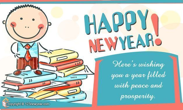 here is wishing you a year filled peace and prosperity new