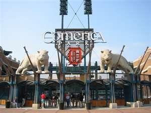 Comerica Park in Detroit. Nice ball park