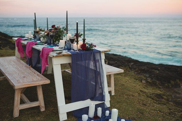 Sunset beach wedding | Just For Love Photography