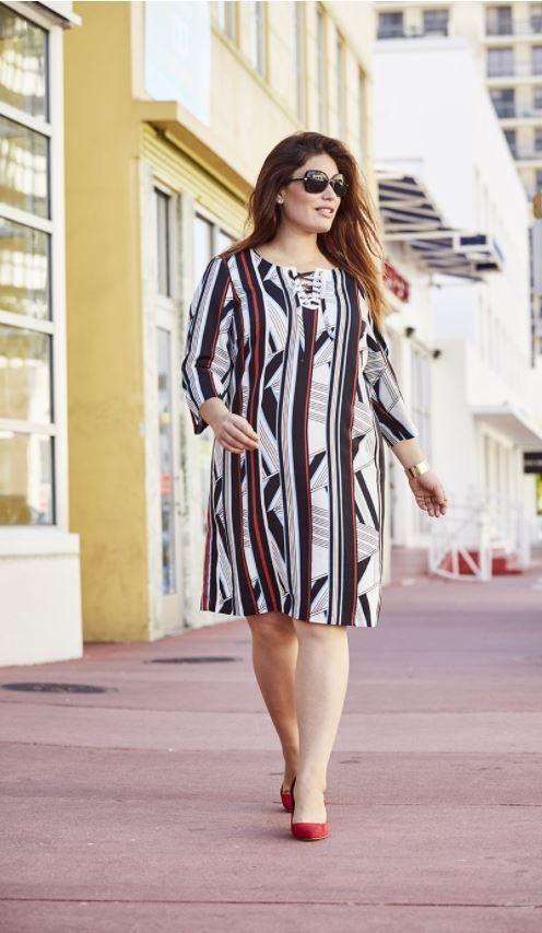 e070b6960a52 Robe Castaluna mode femme grande taille
