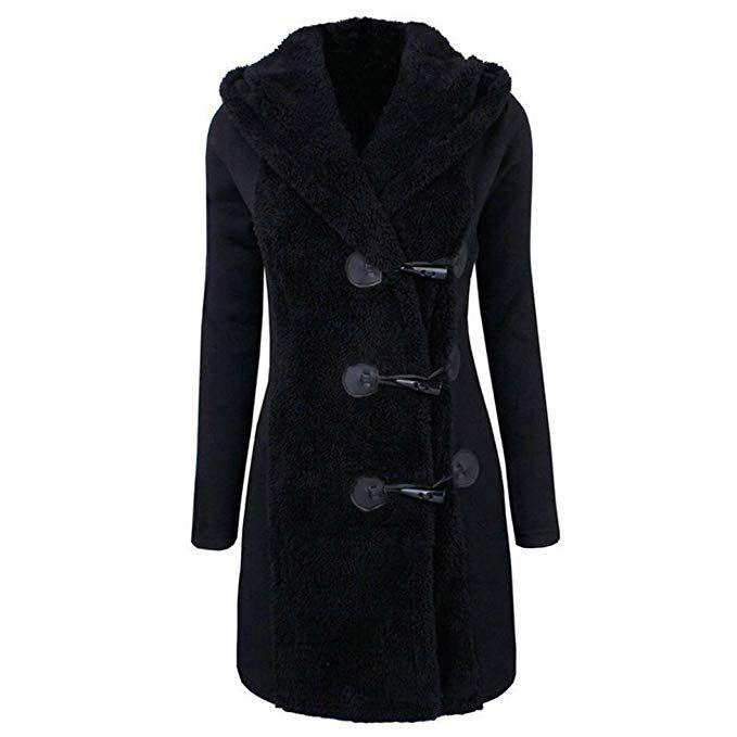 Elecenty Dicker Winterparka Winterjacke mantel Damen Mode CrxoWEdBeQ