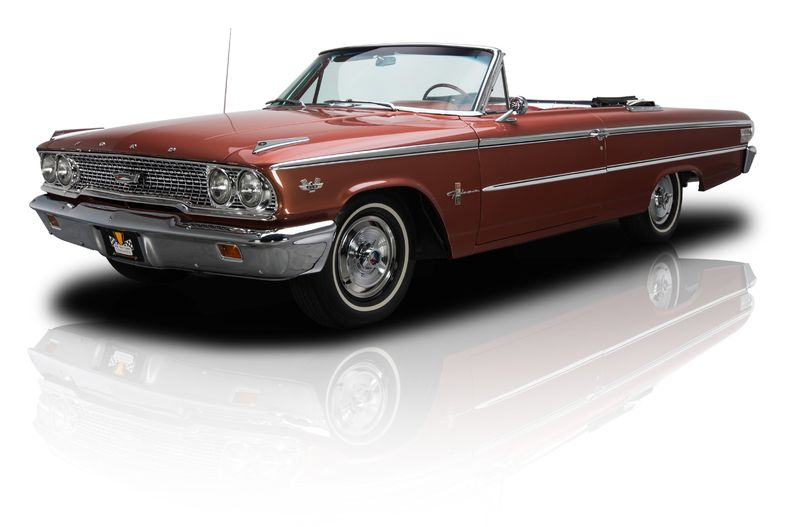 Chestnut 1963 Ford Galaxie 500 Xl Rk Motors Charlotte Collector And Classic Cars Ford Galaxie Galaxie Ford Galaxie 500