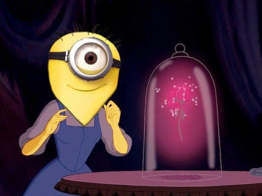 Las princesas de Disney vestidas como MinionsMundoTKM