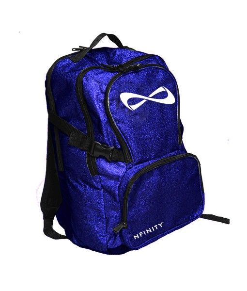 Nfinity Limited Edition Sparkle Backpack | Epic Gear.   So fancy #nfinity #bluesparklebackpack