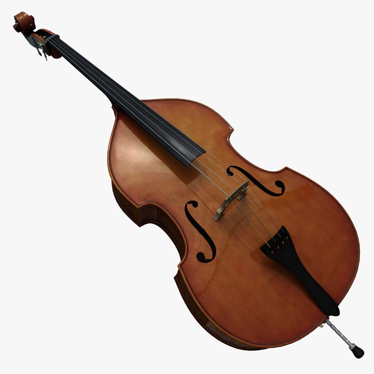 combo contrabass ukulele 3d max contrabas ukulele violin music instruments. Black Bedroom Furniture Sets. Home Design Ideas