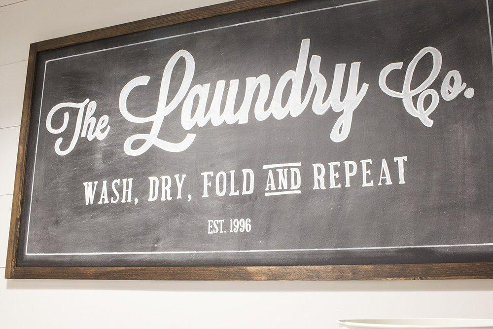 the laundry co DIY sign Laundry room decor diy, Laundry