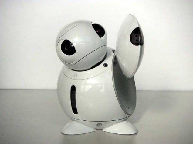 Toshiba's ApriPoko: a Remote Controller Companion Robot