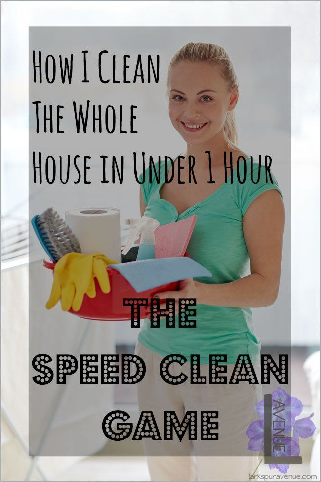 Sd Clean Your Entire House In Less Than An Hour How I Make Cleaning My A And Get It Done 60 Minutes