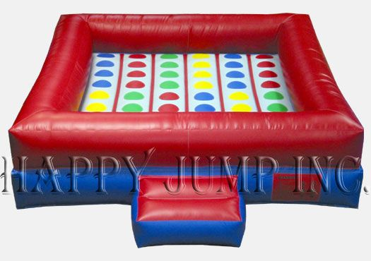 """A must have add-on for any party""""  Our fully inflatable base adds a new """"twist"""" to the Classic Game.  (Includes spinner.)"""
