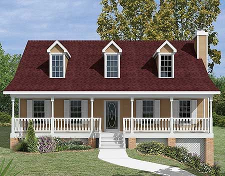 nice country home building plans. Discover the Hamlin Park Country Home that has 3 bedrooms  2 full baths and 1 half bath from House Plans More Plan 2012GA Classic One one Story