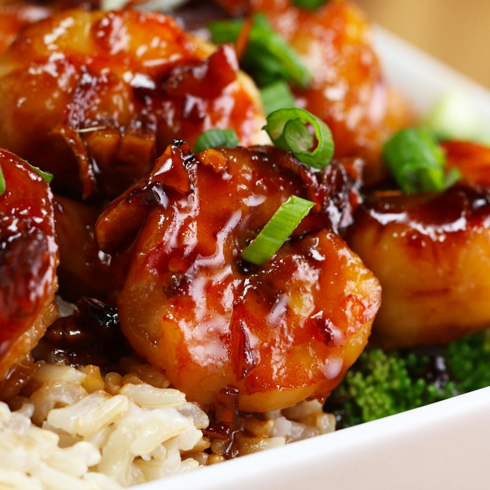 Honey Garlic Shrimp Stir-Fry Recipe by Tasty