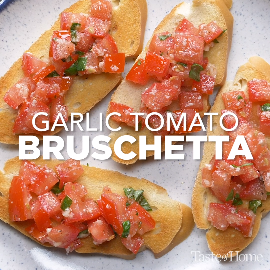Photo of Garlic Tomato Bruschetta