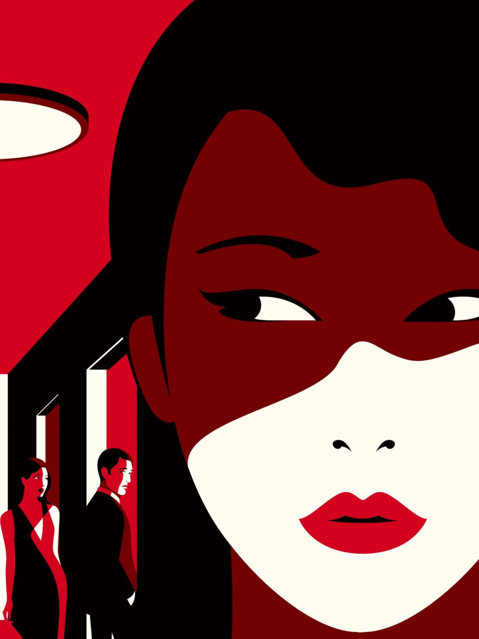 China S Mistress Dispellers Detail Portrait Illustration By Malika Favre For The New Yorker Magazine Article Of Gen Portrait Illustration Illustration Artist