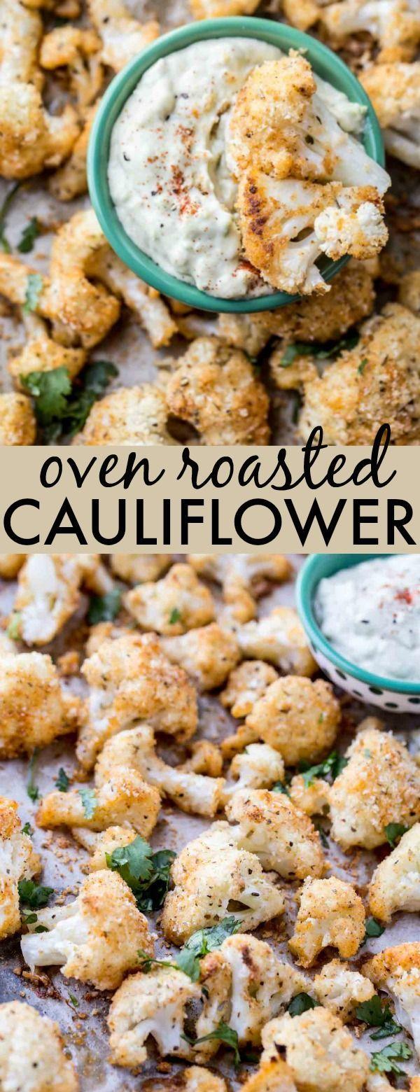 Photo of Oven Roasted Cauliflower Recipe – Valentina's Corner