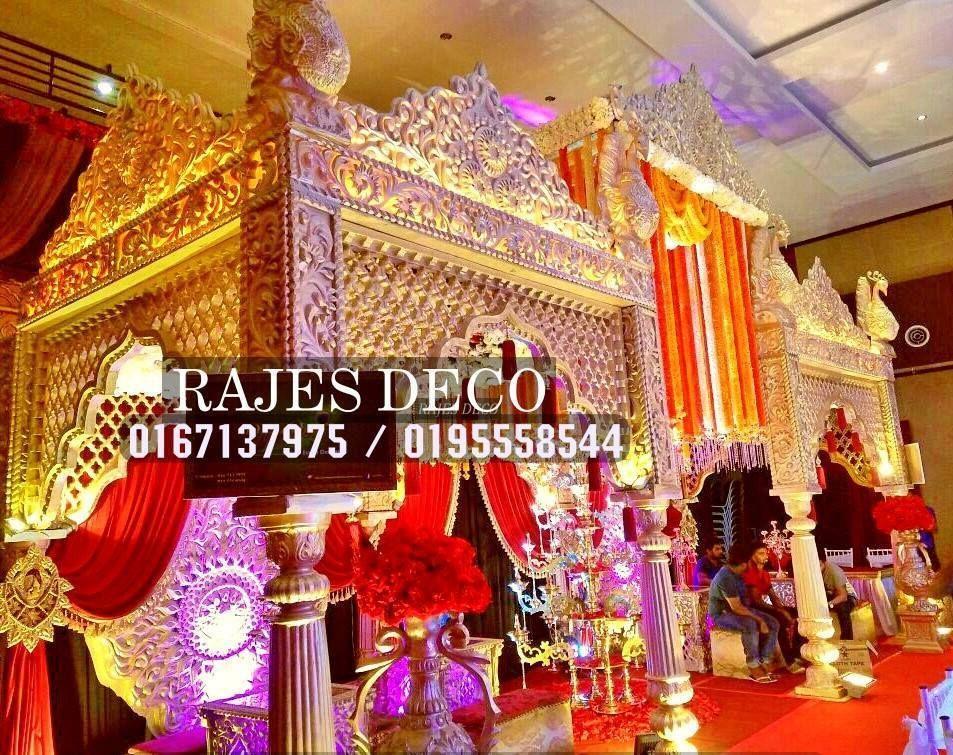 Indian wedding decoration grand royal mandap rajes deco wedding indian wedding decoration grand royal mandap junglespirit Image collections