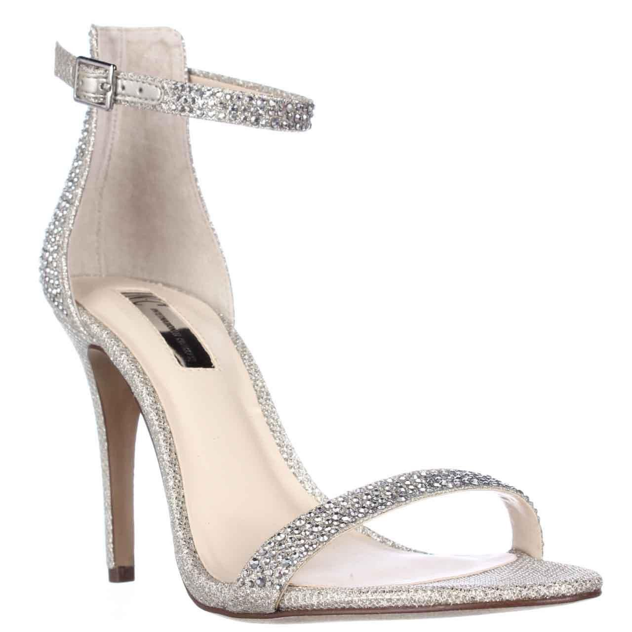 I. Roriee Ankle Strap Dress Sandals - Champagne