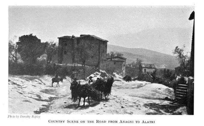 Strada da Anagni a Alatri