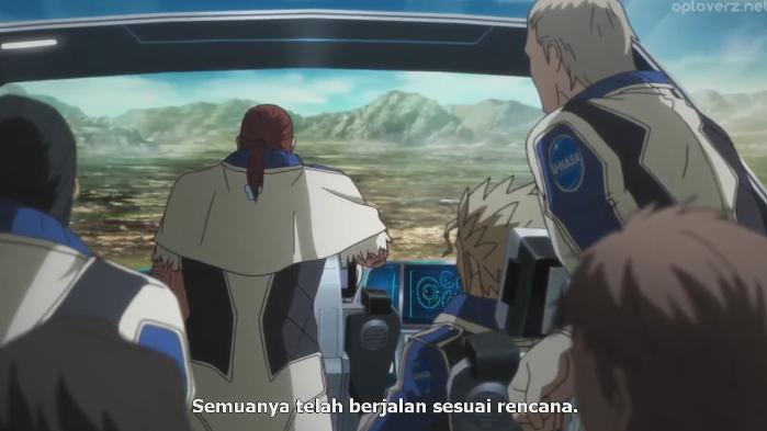 Terra Formars Revenge episode 3 Subtitle Indonesia