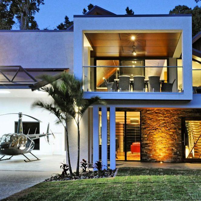 Hangar home Whitsundays / Chris Clout Design | Hangar Man Cave ...