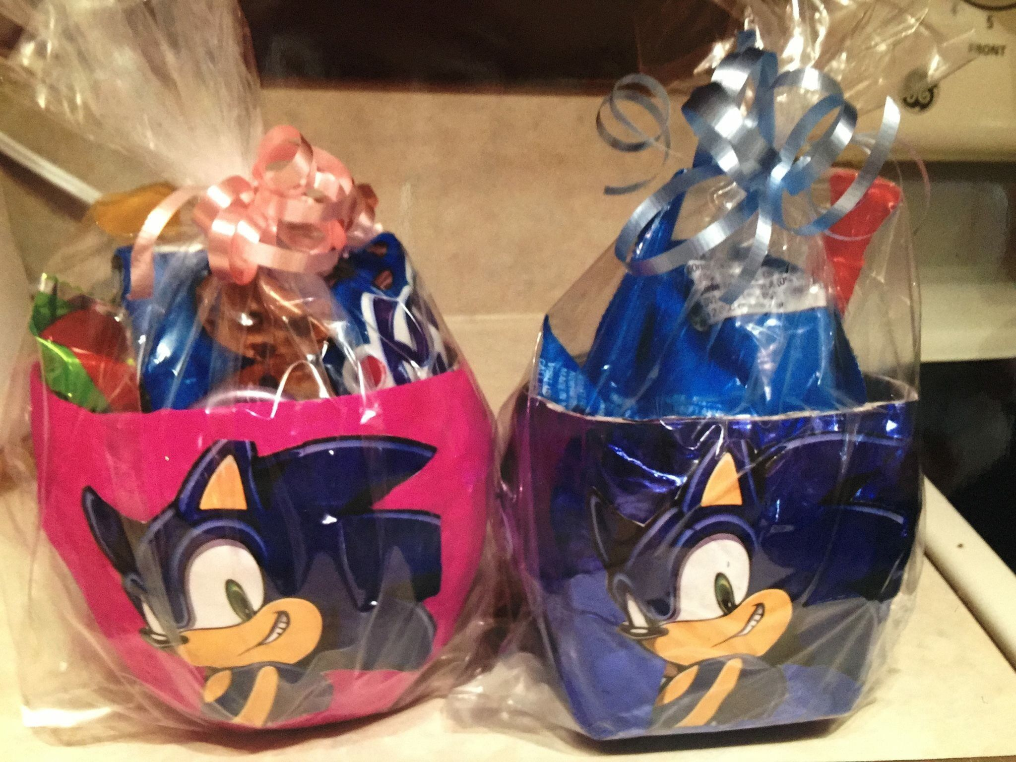 Sonic Goody Bags Goodie Bags Handmade Party Decorations