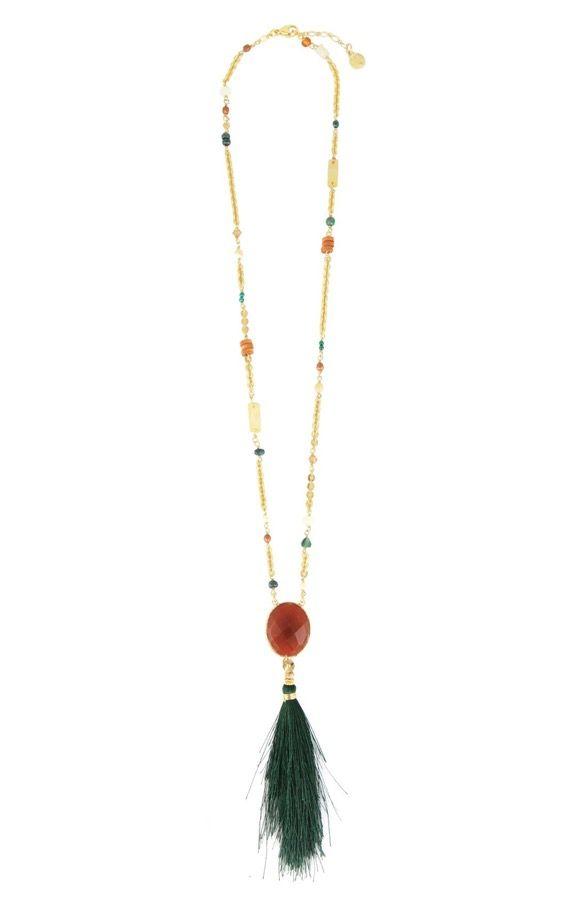 Gas Bijoux Holly Pom pom necklace HXRo2