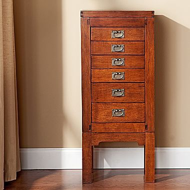Jewelry Armoire, Oak - jcpenney | Jewelry armoire ...