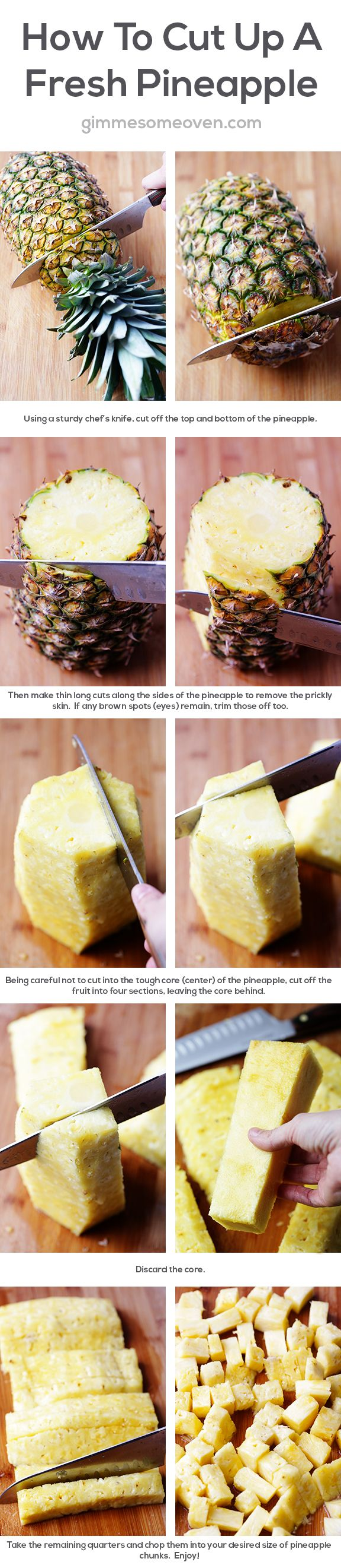 The Right Way To Cut A Pineapple The Right Way To Cut A Pineapple new pics