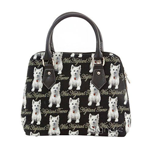 Signare+Women's+Westie+Dog+Convertible+One+Size+Black+And+White+Handbag+Queen+http://www.amazon.com/dp/B004EMSV24/ref=cm_sw_r_pi_dp_uLLkwb0D1FMPR