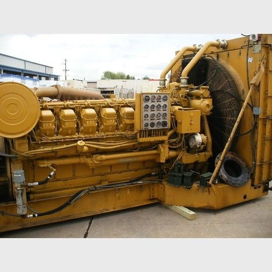 Caterpillar 1600 Kw Diesel Generator Diesel Diesel Generators Caterpillar
