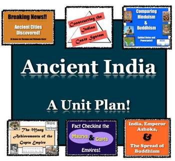 Photo of Ancient India World History Unit   9 resources Ancient India  Distance Learning