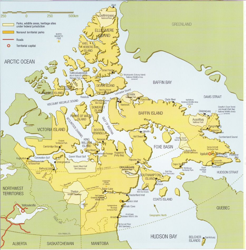 Map Of Canada Nunavut.Nunavut Map Nunavut Canada Mappery One World Canada Travel