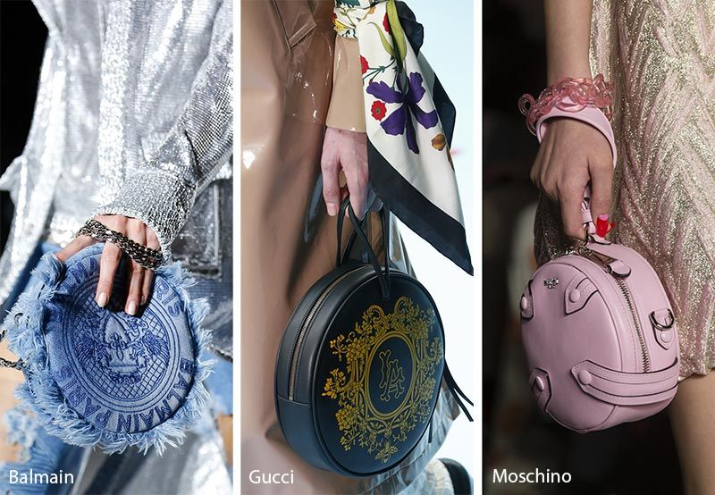 35917e13a17d Fall  Winter 2018-2019 Handbag Trends  Circular Bags have a dainty