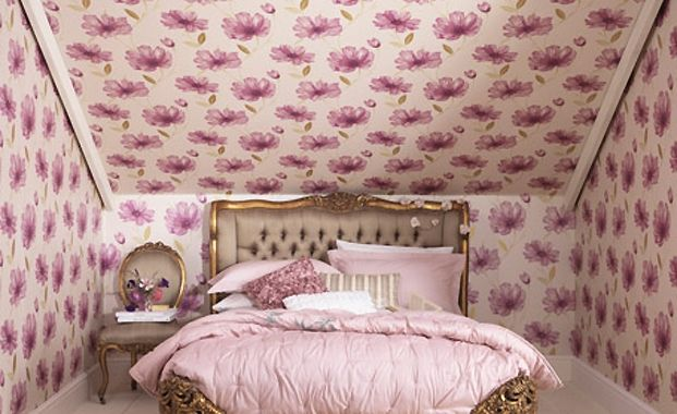 Wallpapering A Ceiling Wallpaper By Graham And Brown Home Bedroom Bedroom Wall Decor
